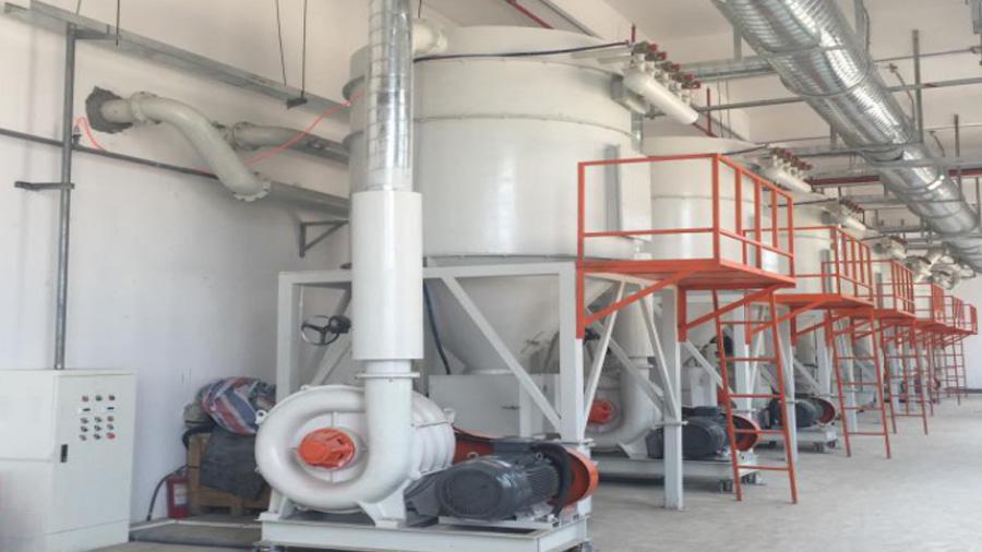 线路板PCB整厂除尘废气处理采用工业除尘设备